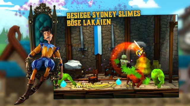 Besiege Sydney Slimes böse Lakaien